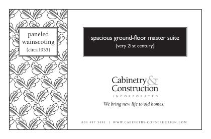 spacious ground-floor master suite